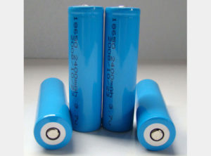 Battery: Rechargeable Lithium Ion 18650 Raised Positive