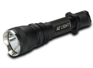 600 Lumen Single Switch Tactical Flashlight