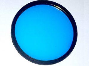 Blue Forensic lens