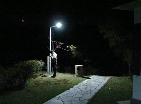 Solar Courtyard Light 8W LED