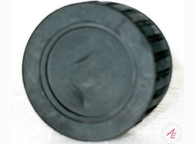 Xenide Rubber solid end cap