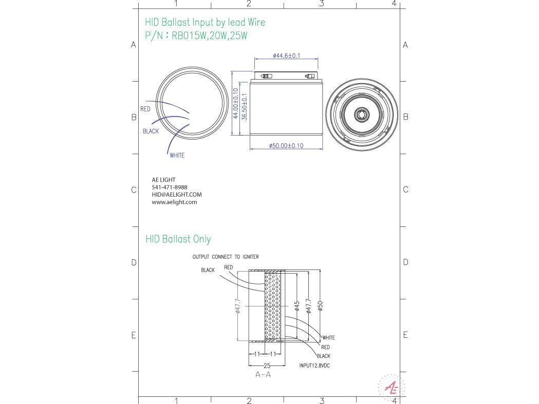 light metal halide ballast wiring schematic ballast metal halide 15 20 25w 12v dc ballasts starters ae light  ballast metal halide 15 20 25w 12v dc