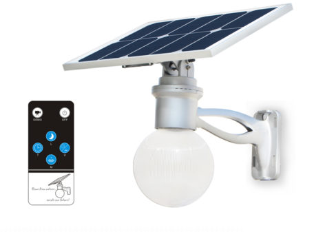 SCMLR12 4W Solar Remote Control LED